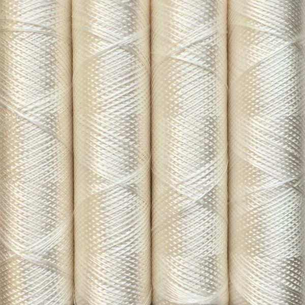 001 White - Pure Silk - Embroidery Thread