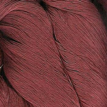 2/40c.c. Gassed, Combed Mercerized Cotton - Burnt Chestnut (red/brown) - 200g cone