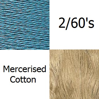 2/60c.c Mercerized cotton